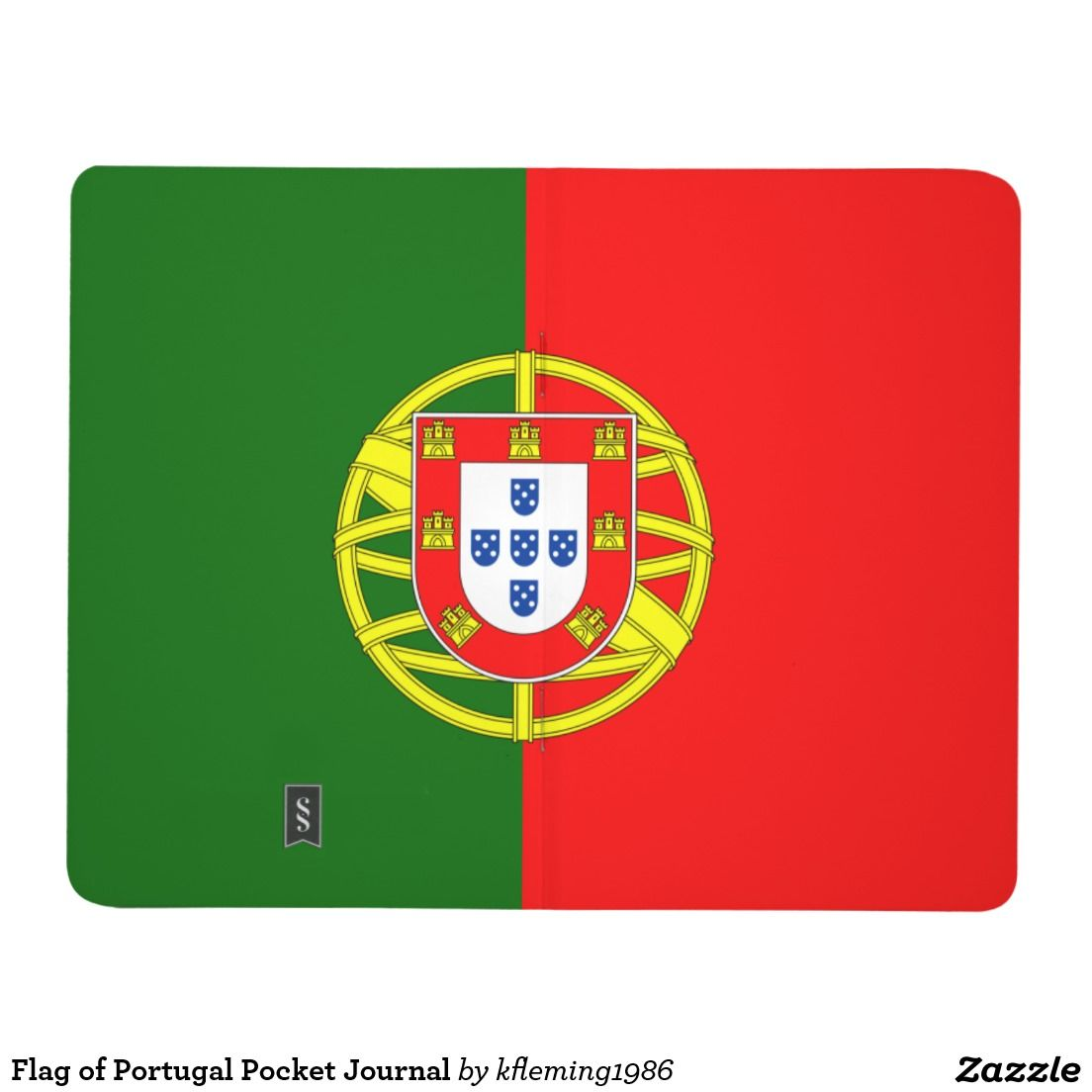 Flag of Portugal Pocket Journal | Portugal flag, Portuguese flag, Flag