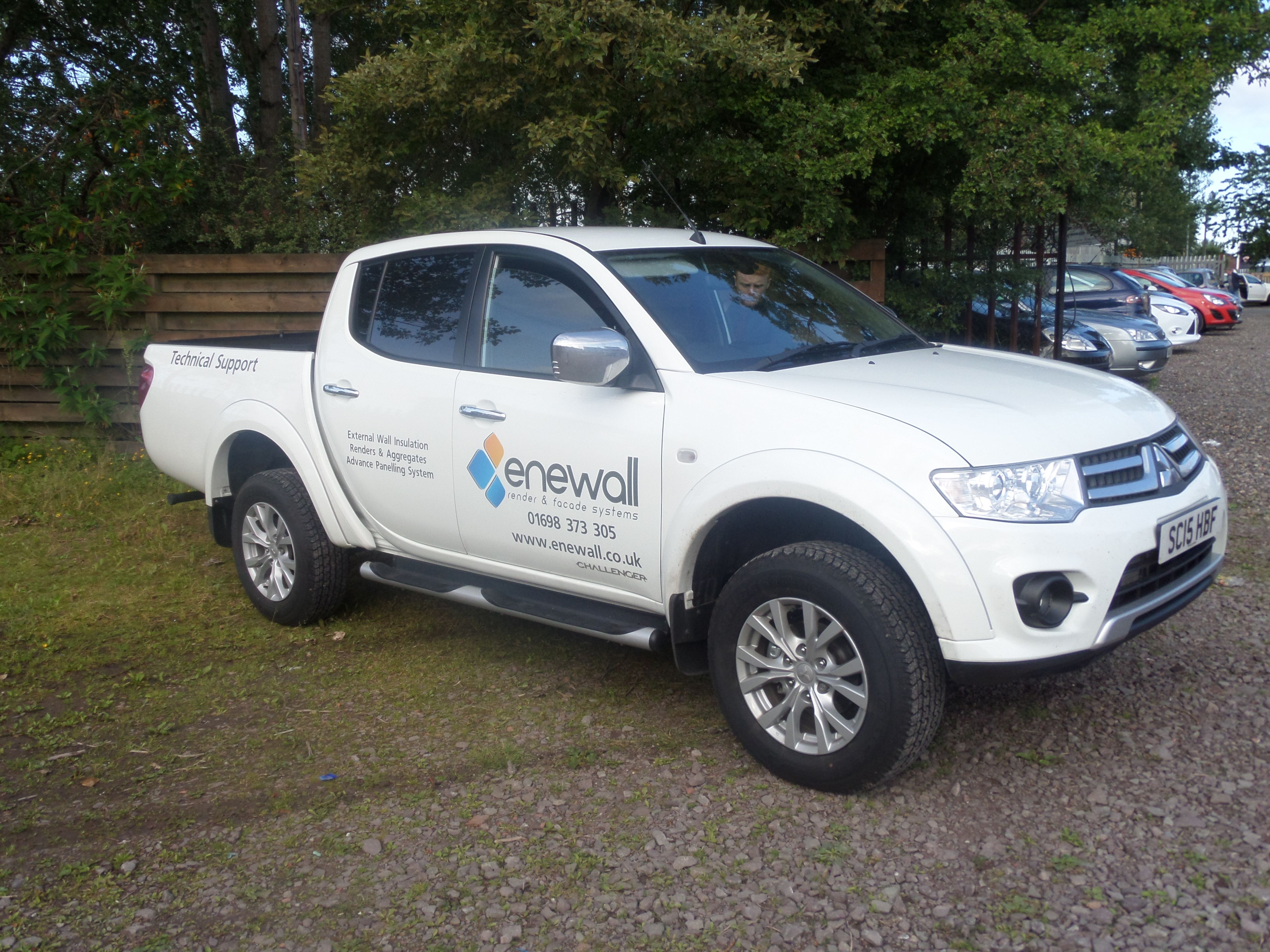 Enewalls Technical Support Vehicle Finally On The Road Will Be - Mitsubishi technical support