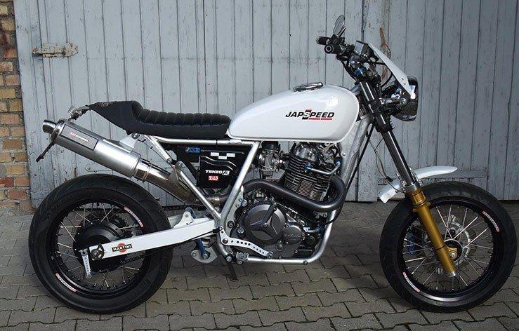 Custom Suzuki Dr 800 Big Motorrad Umbauten Motorrad Coole
