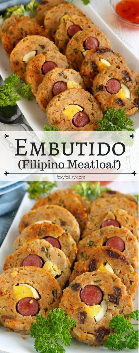 Embutido recipe filipino ground pork meatloaf recipe cooking try this embutido recipe the filipino version of a meat loaf foxyfolksy forumfinder Gallery