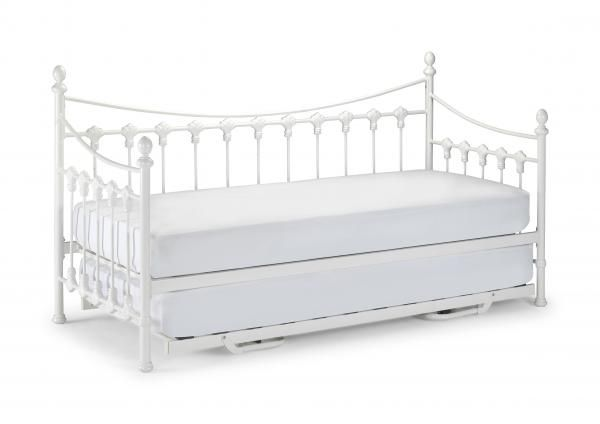 Versailles Metal Day Bed With Or Without Trundle And Mattresses