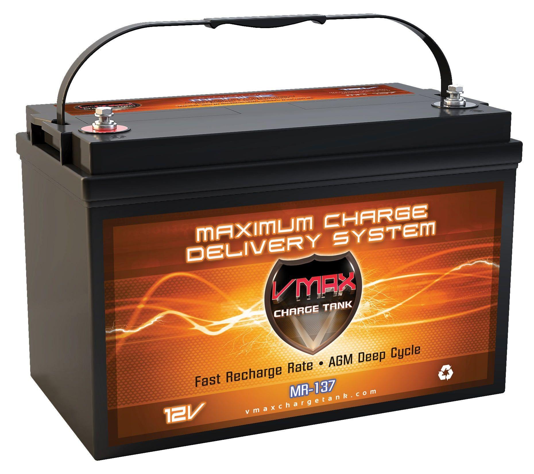 Mr137 120 Group 31 12v 120ah Agm Deep Cycle Battery 1596wh Solar Battery Rv Solar Power Deep Cycle Battery