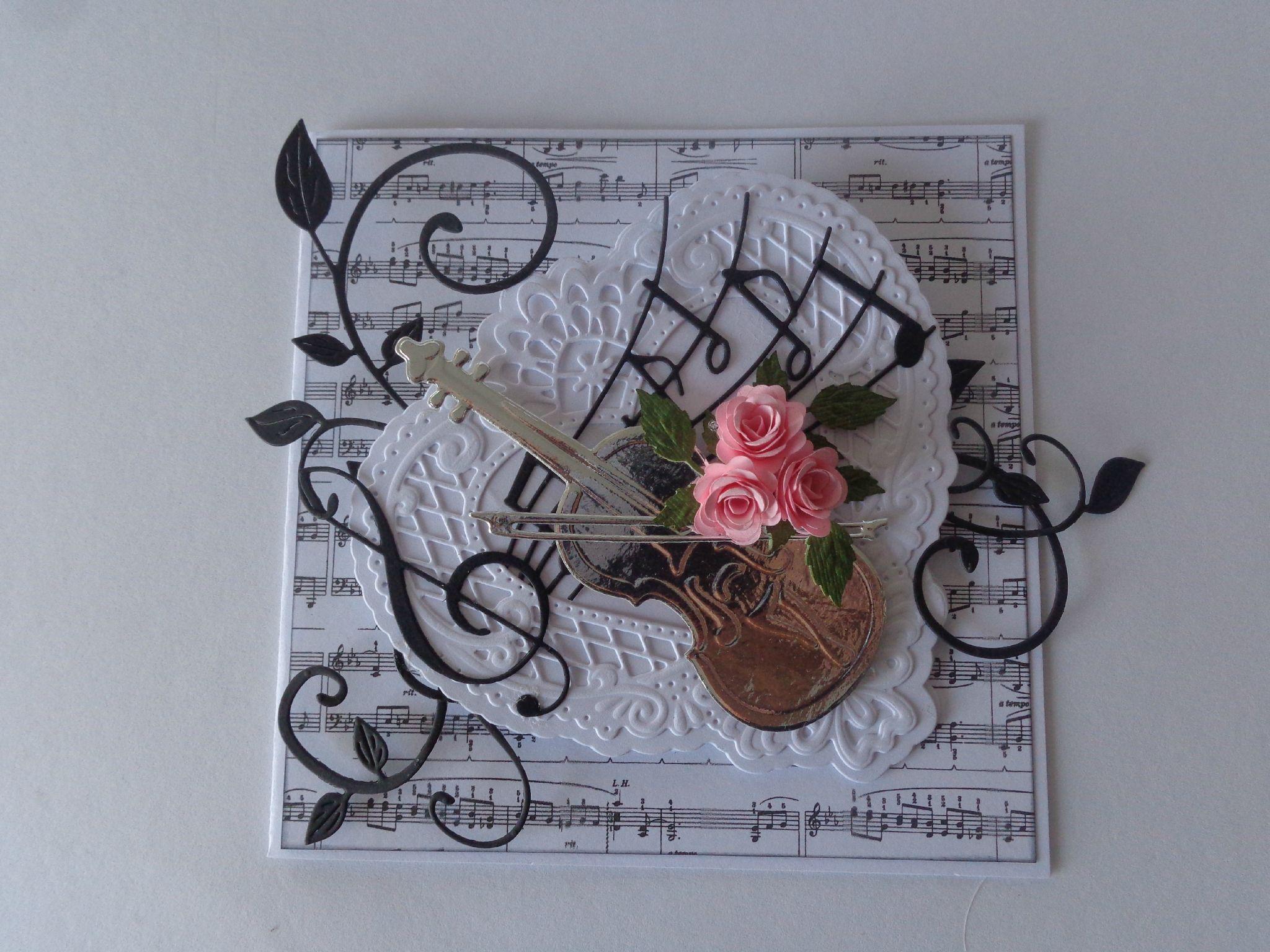 carte chevalet th me musique les cr ations d co de marsouille music card or tag. Black Bedroom Furniture Sets. Home Design Ideas
