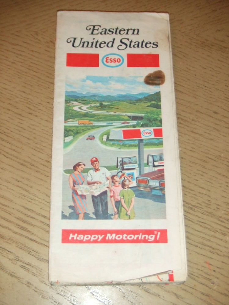 VINTAGE 1971 Esso Humble Oil Gas Eastern