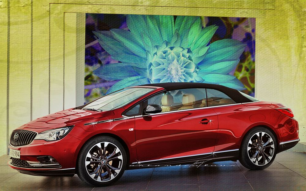 2014 Buick Invicta Convertible   Not A GM Fan, But I Could Fall For This  One.