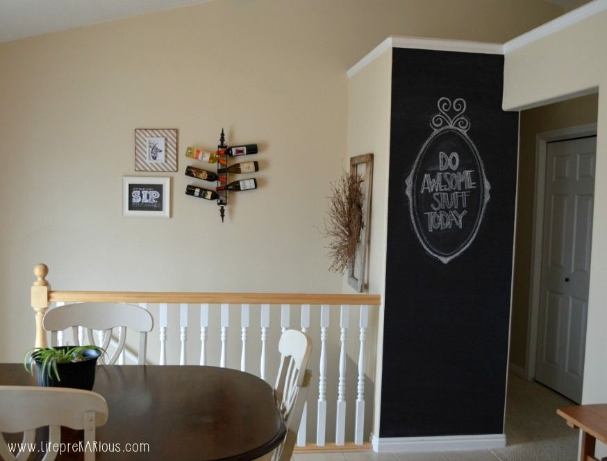 Chalkboard Accent Wall Chalkboards Wall Ideas And Walls - Chalkboard accents dining rooms