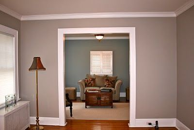 Benjamin Moore Kentucky Haze To Compliment The Bm Thunder That Is In Living Dining Room