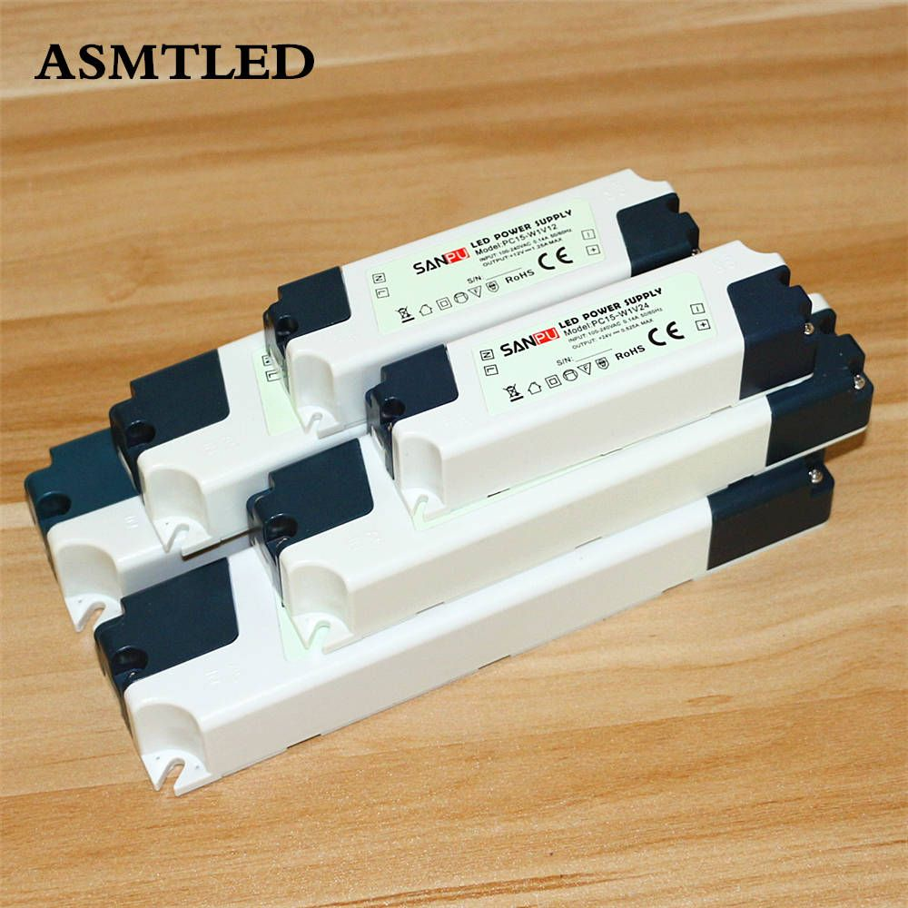 ASMTLED Neue Netzteil Beleuchtung Transformatoren DC12V 24 V Hohe Qualität  Led Leuchten Fahrer Für Led