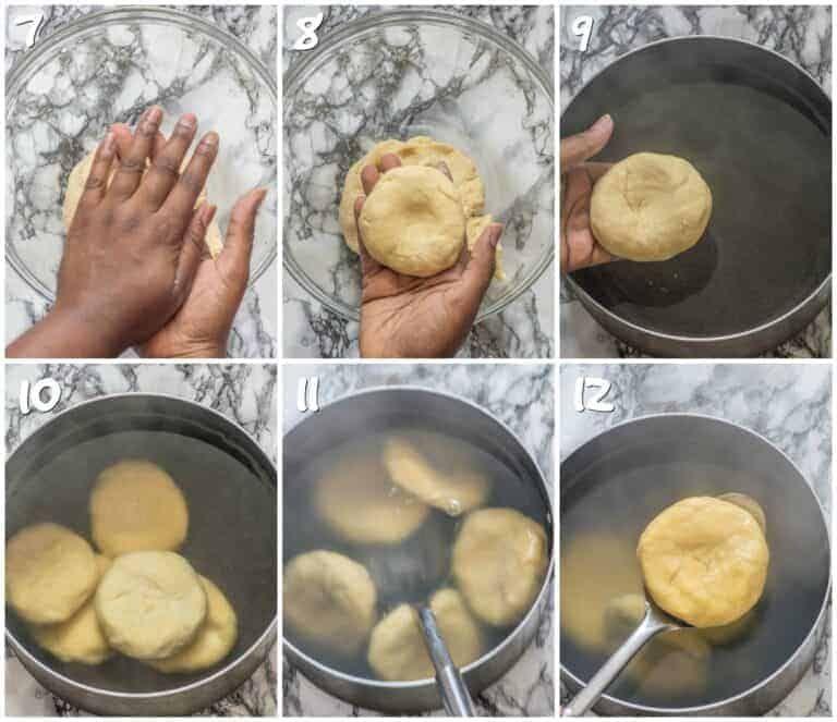 jamaican cornmeal dumplings  recipe in 2020  cornmeal