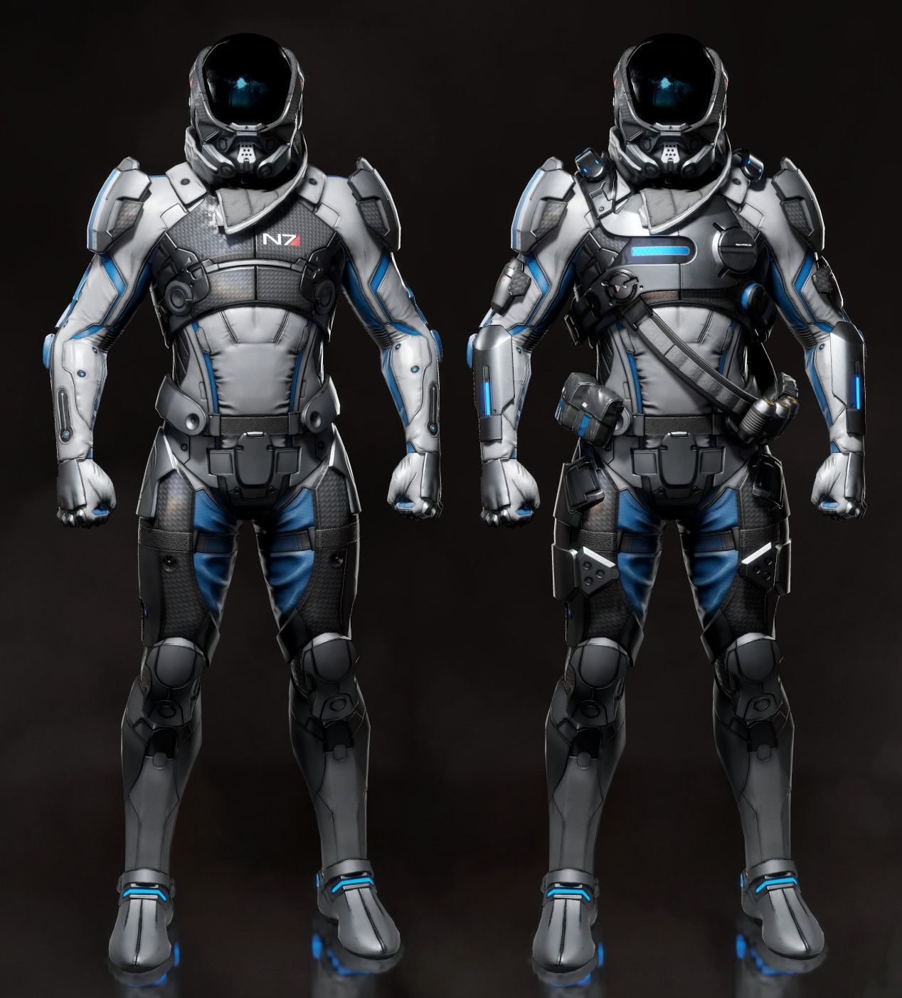 ArtStation - Mass Effect   Andromeda Fan Art, Lee Young Chul   Mechs ... 3a7bbe43be
