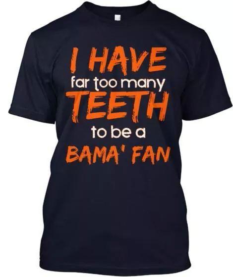 6c89aa4e878 I hate bama!   I hate Alabama   Auburn shirts, Auburn university ...