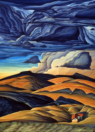 Distant Lands ~ by William Haskell - Manitou Galleries