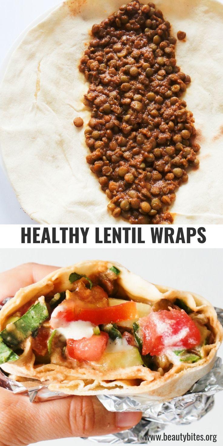 Vegan Lentil Wraps images