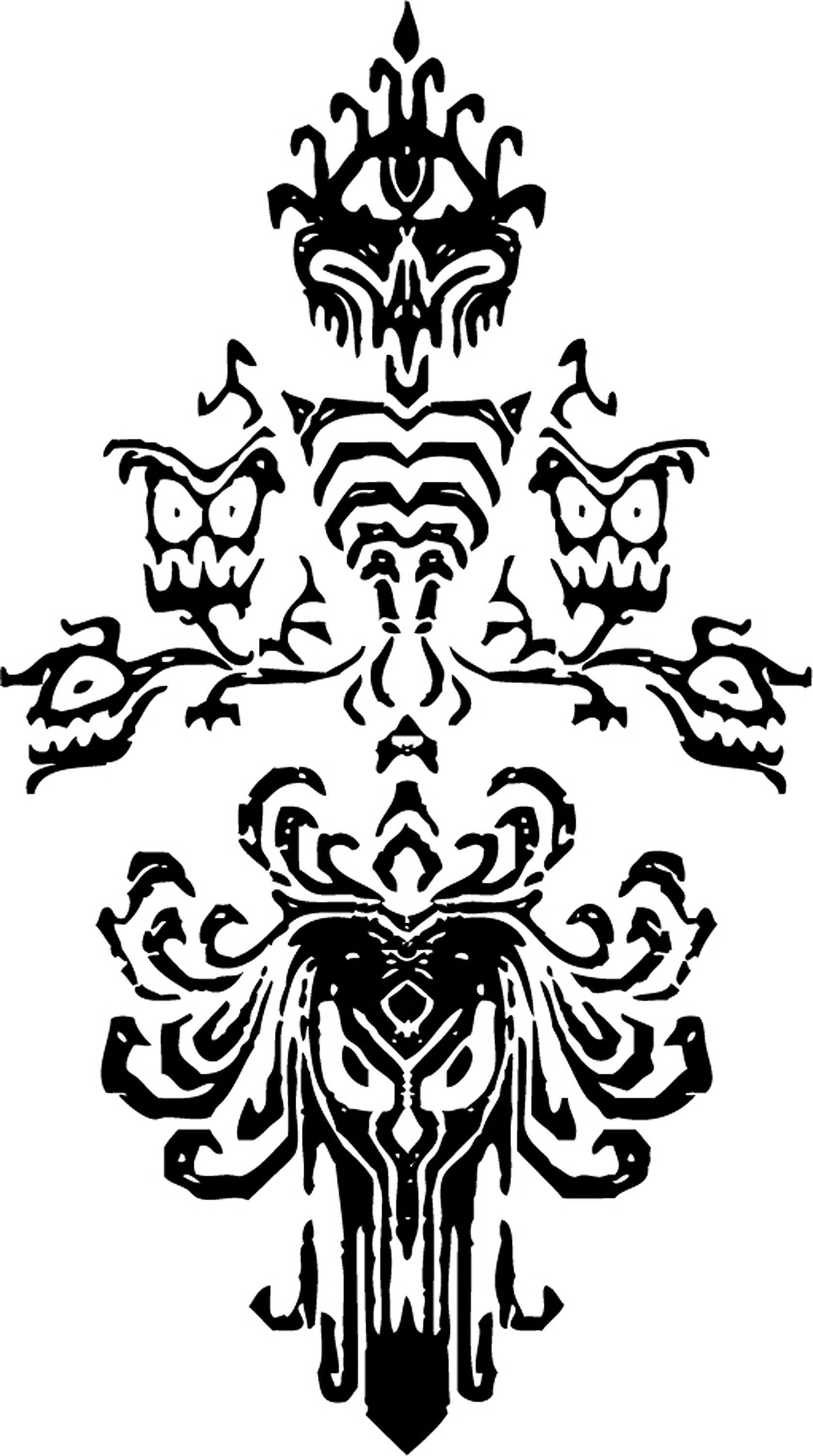 Haunted Mansion ghost pumpkin carving stencils! Via the Walt ...