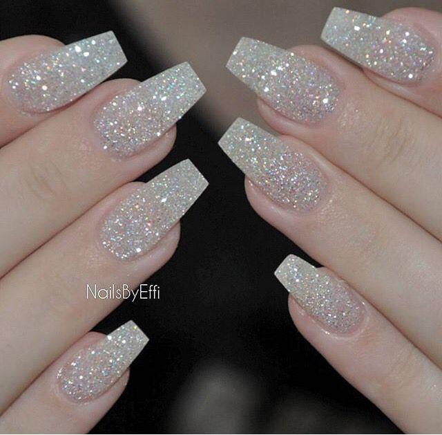 uñas #brillos | Laura nails | Pinterest | Brillo, Diseños de uñas y ...