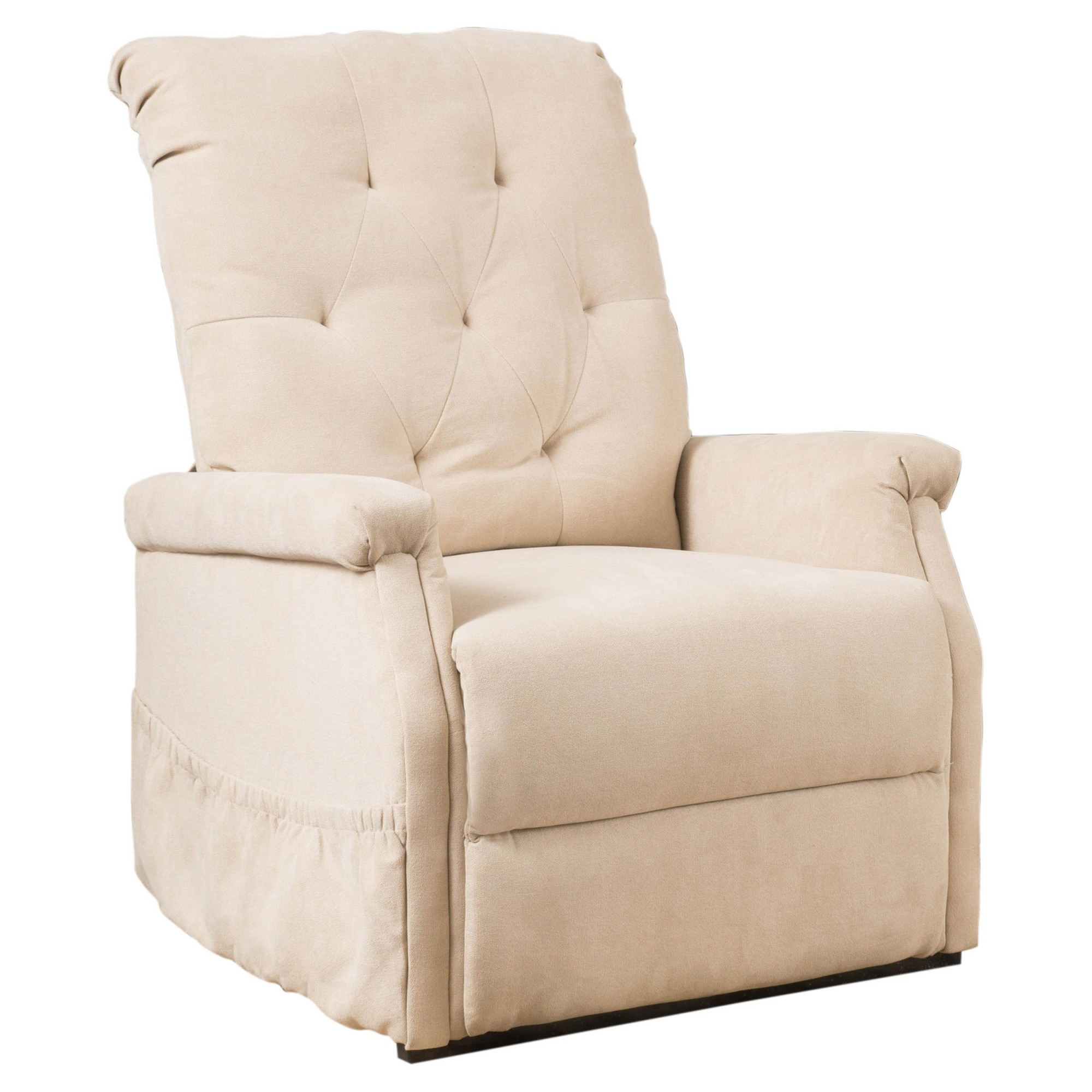 Ori Upholstered Lift Chair Wheat Christopher Knight