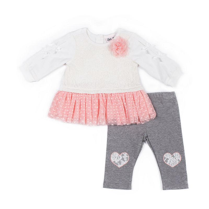 cd5057e6458c6 Little Lass 2-pc. Legging Set-Baby Girls | Products | Tunic dress ...