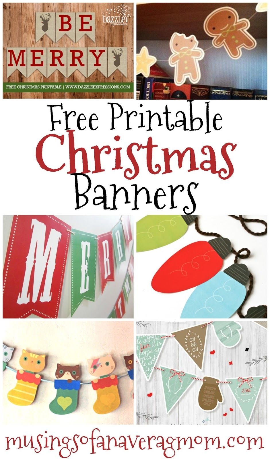 photo relating to Free Printable Christmas Banner named Absolutely free printable Xmas banners Banner Letters Totally free
