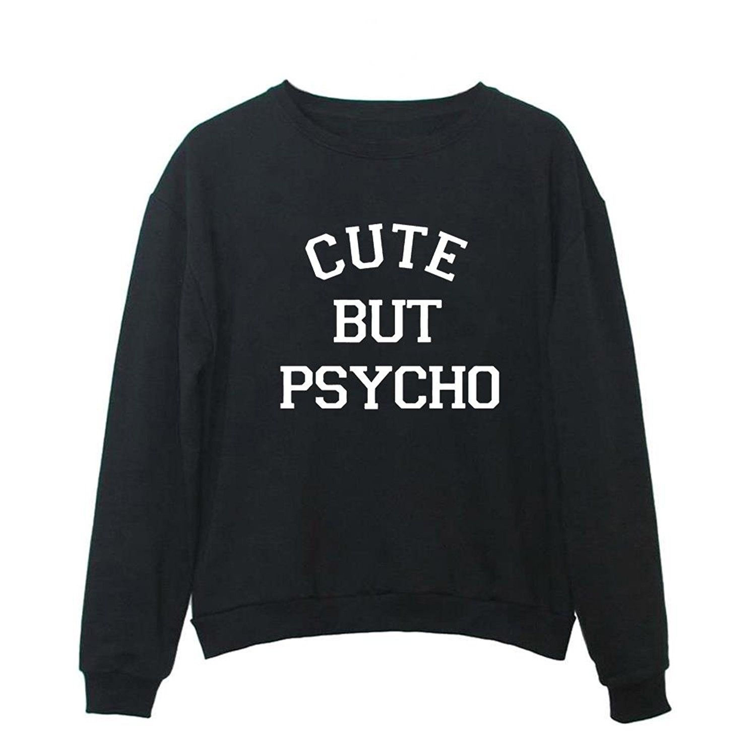 Women's Clothing, Hoodies & Sweatshirts, Women Graphic Cute Sweaters Funny Pullover Teen Girls Sweatshirts - Black - CJ187CE0WY9         #fashion #Hoodies #Sweatshirts #women #outfits #clothing