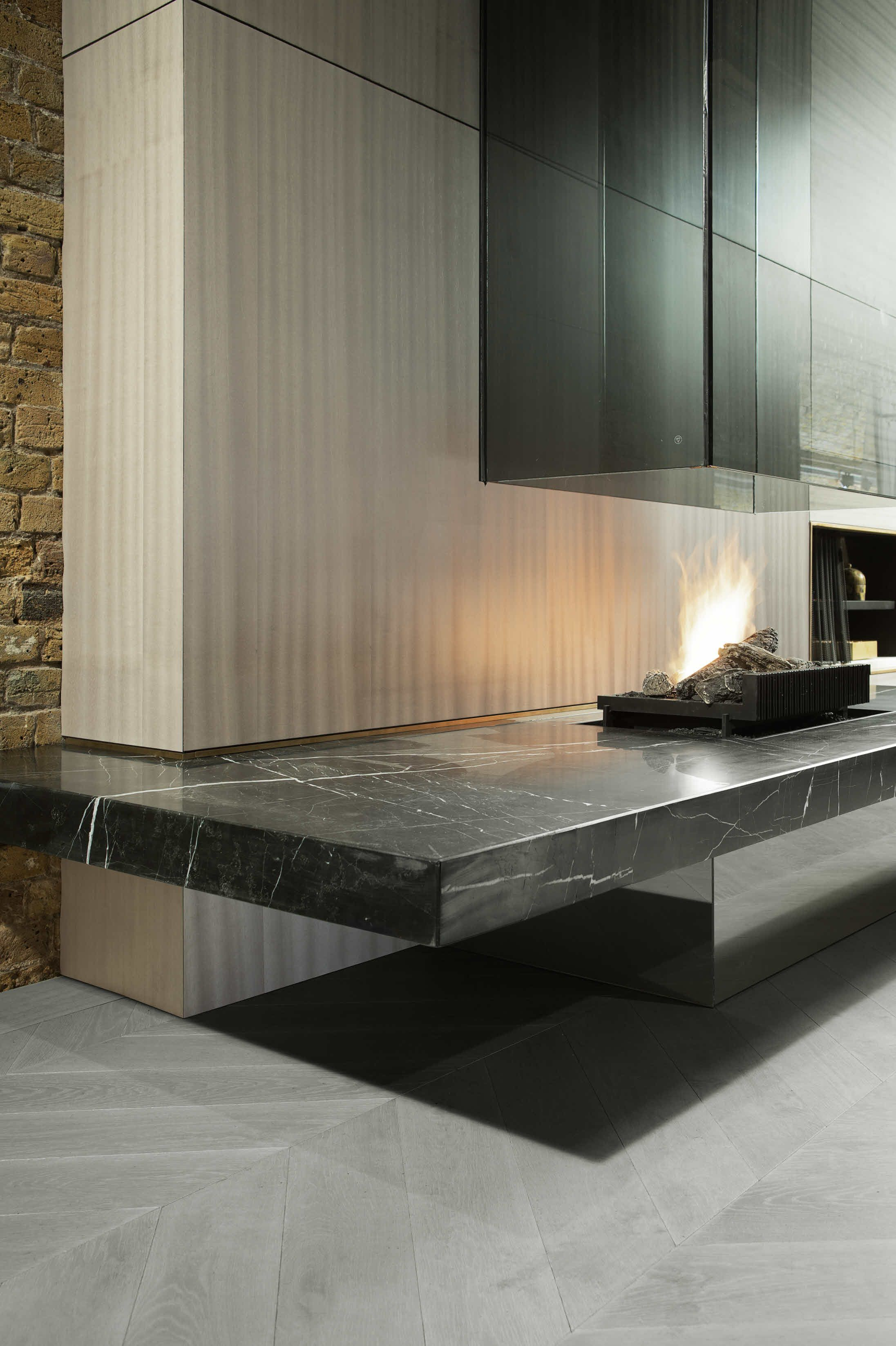 Poggenpohl Amsterdam Poggenpohl The Fourth Wall Concept Dream Home Fireplace