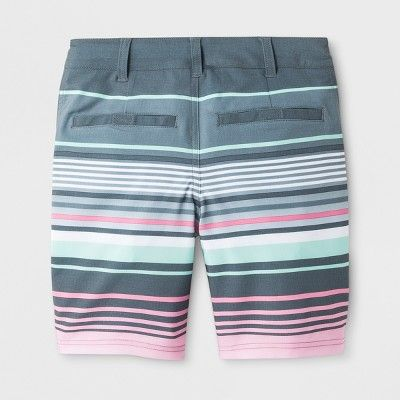 2443a3a449 Boys' Stripe Swim Trunks - Cat & Jack™ Gray 8 | Products | Swim ...