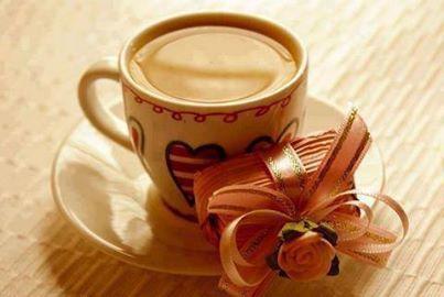 Café et petit cadeau !