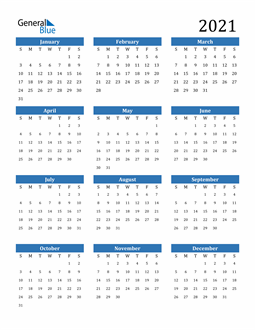 2021 Calendar Yearly In 2020 Calendar Template Printable Yearly Calendar 2021 Calendar