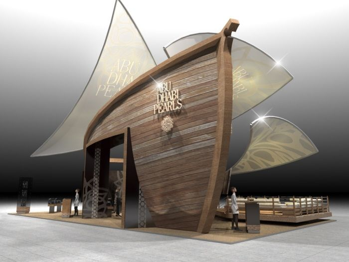 Exhibition Stand Design Abu Dhabi : Abu dhabi pearls by paul wigfield at coroflot