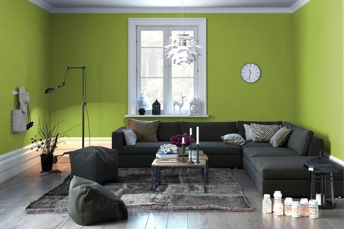 Soggiorno grigio e verde ecco 15 esempi per farvi un idea interiors and house
