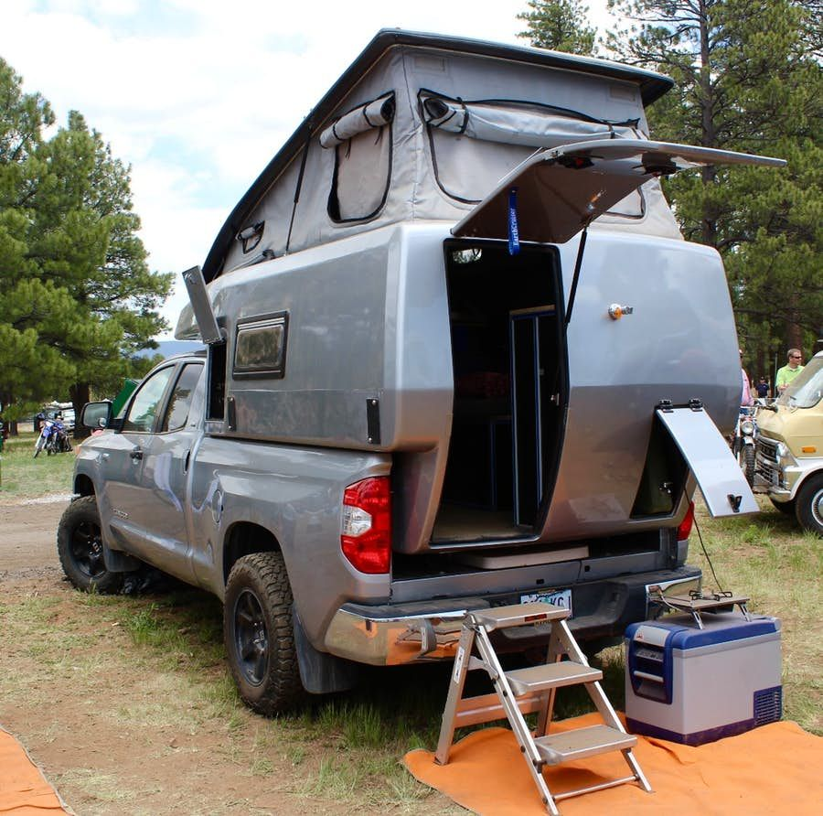 In Photos Pickup Campers Big Rig Motorhomes And Adventure