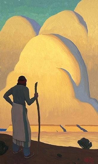 Navajo Shepherd by Logan Maxwell Hagege