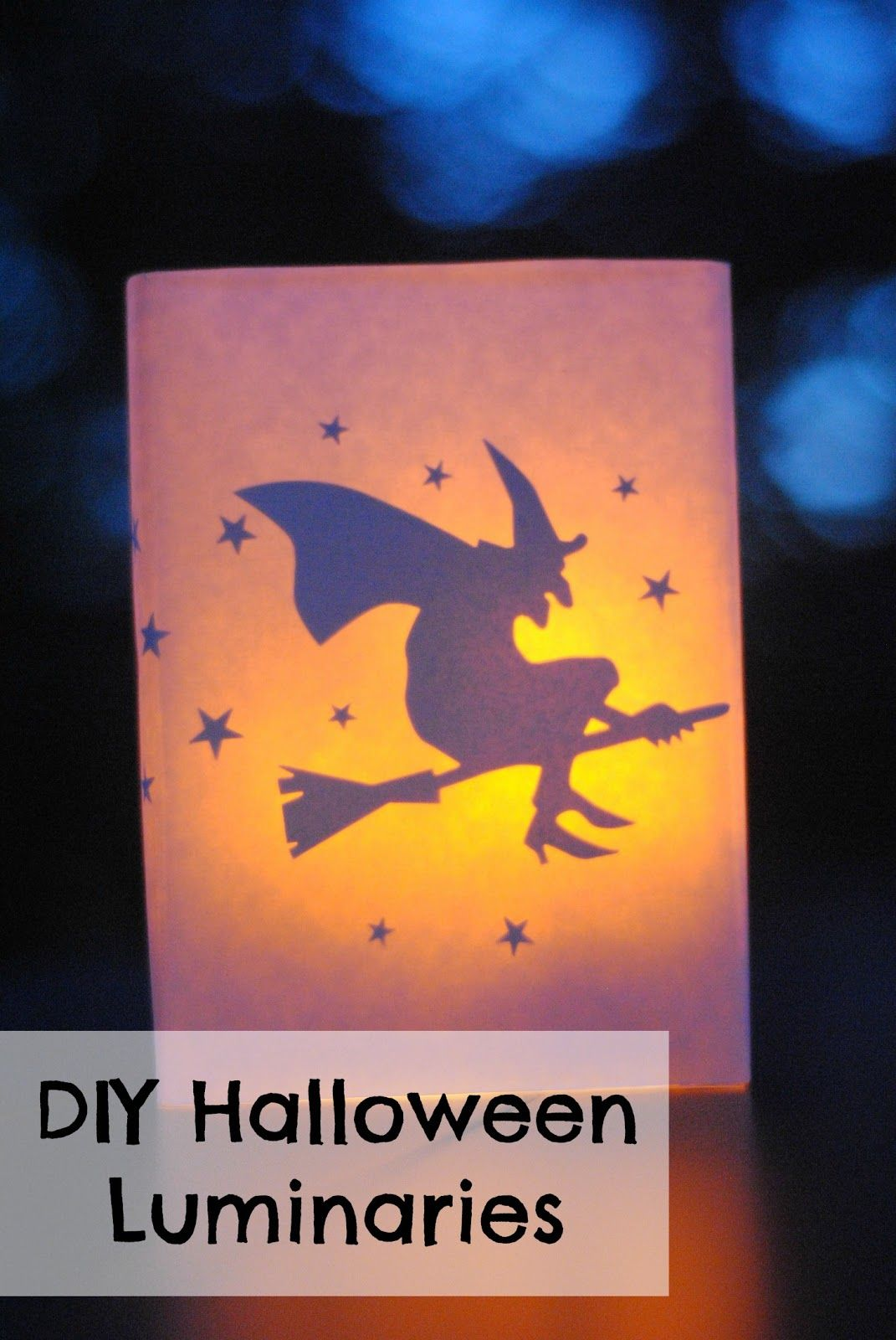Making Lemonade DIY Halloween Luminaries Making Lemonade