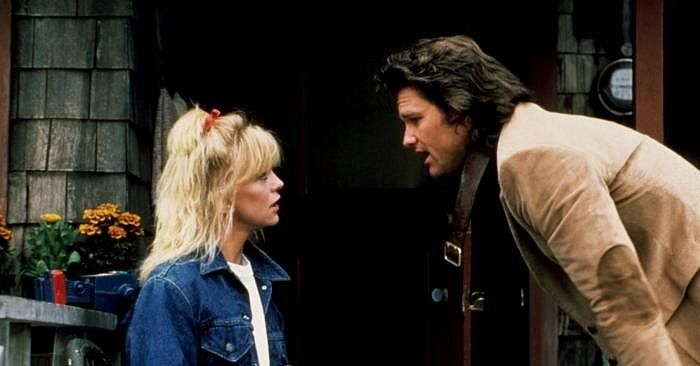Goldie Hawn And Kurt Russell Overboard Overboard Movie Goldie Hawn Goldie Hawn Kurt Russell