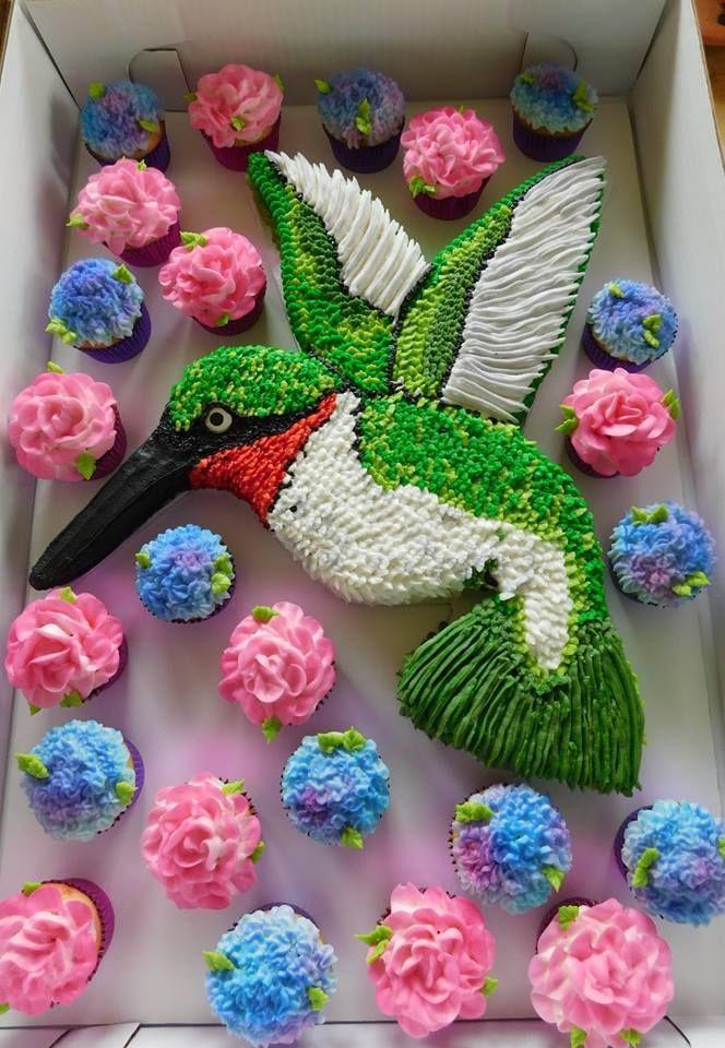 The Best Cupcake Cake Ideas Fun Cupcakes Hummingbird
