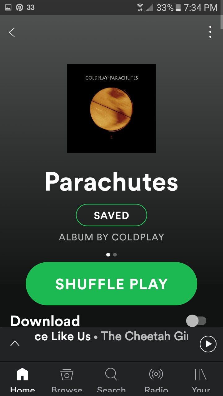Coldplay Parachutes full album - released on July 10, 2000.