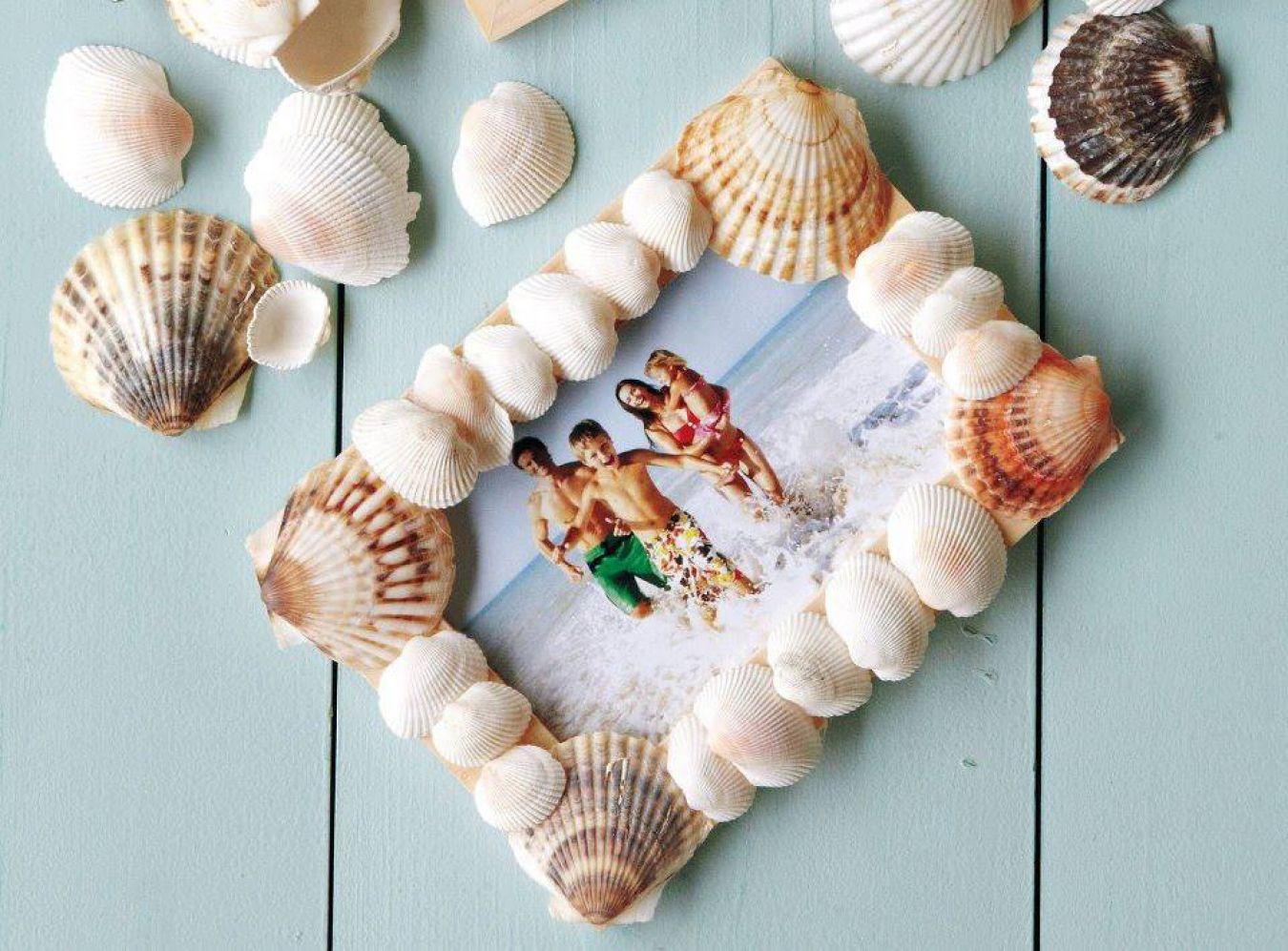 Картинки из ракушек для детей своими руками фото 305