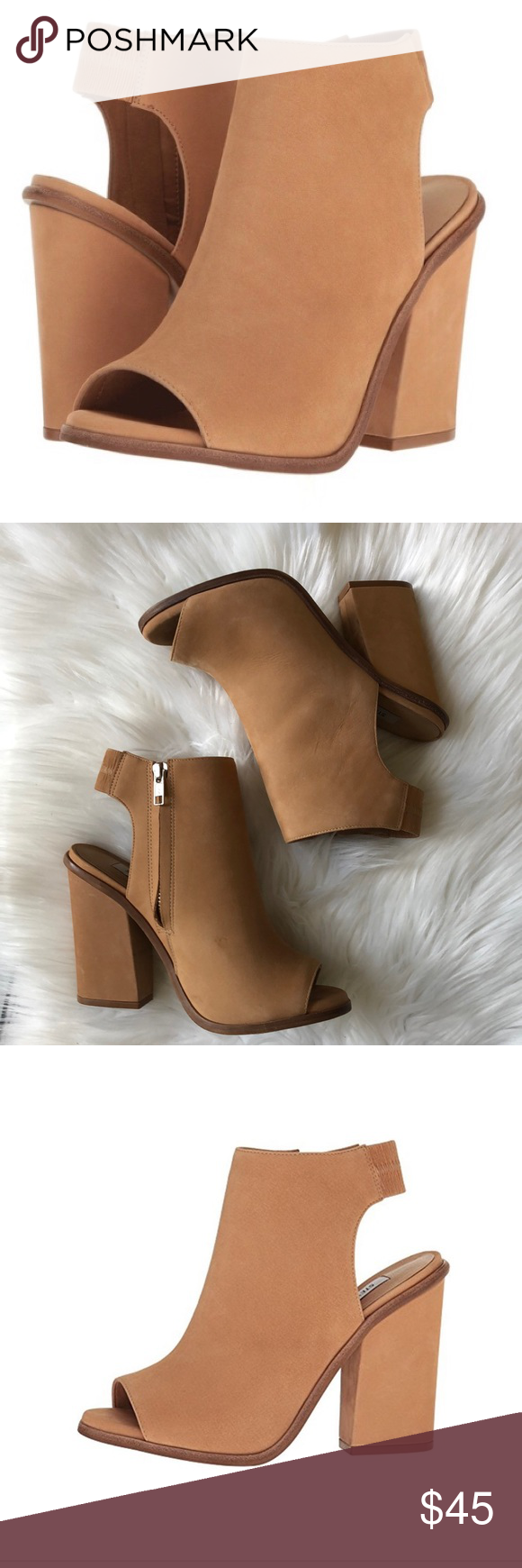 b2908566fb4 Steve Madden® Valencia perp toe bootie Size 7 From day-to-night, the ...
