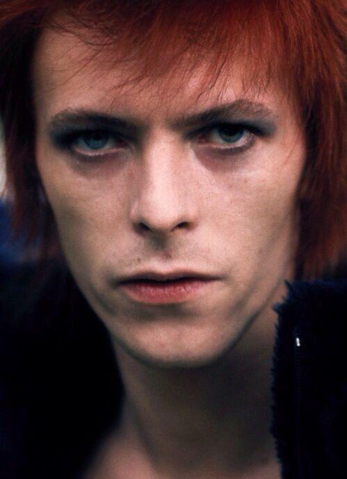 David Bowie 70s (photo by Mick Rock).