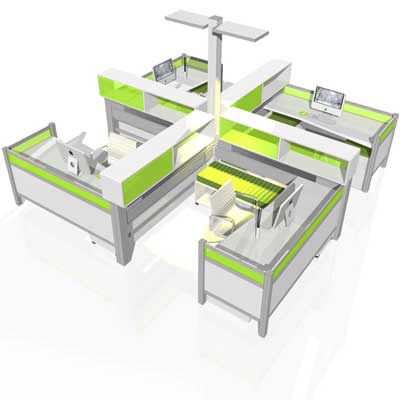 Superior Modular Office Furniture   Workstations, Cubicles, Systems, Modern,  Contemporary
