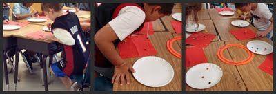 Pöydällä on karkkeja (esim. M&M´s, ranskanpastilli tms, sopivan kokoinen namu). Oppilas imee karkin suussa olevalla pillillä ja päästää karkin kertakäyttölautaselle. Voittaja on se, joka saa ensimmäisenä lautaselle hymynaaman kaikista karkeista.