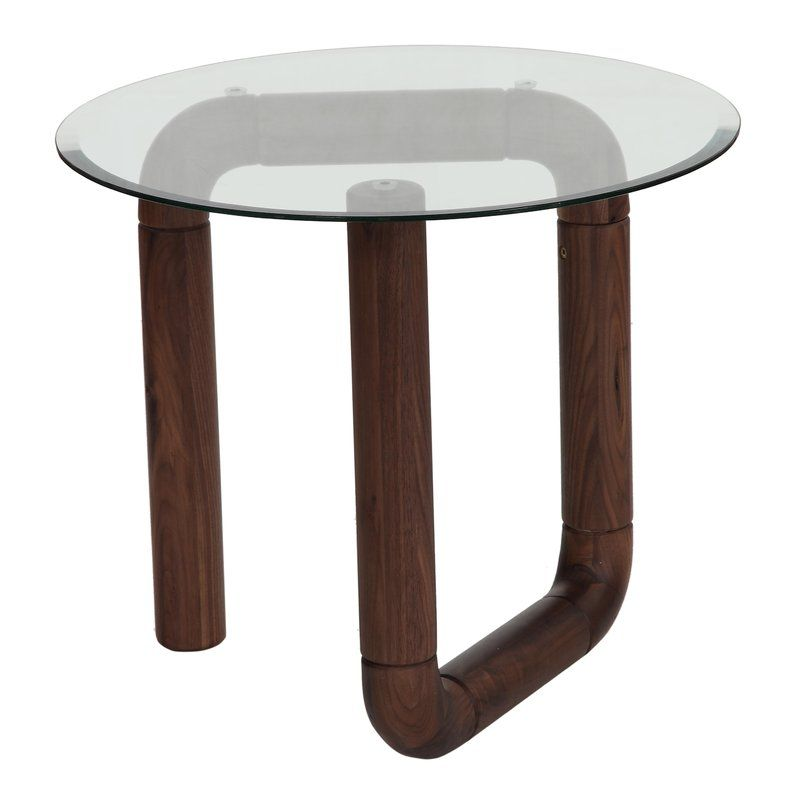 Pin By Rochelle On Kristina Tables Walnut Side Tables Contemporary Side Tables Side Table