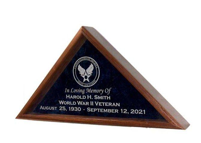 American Flag Display Cases | Flag Display Cases, Burial Flag Frames, Flag Medal