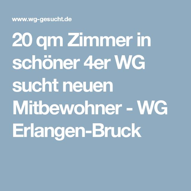 20 qm Zimmer in schöner 4er WG sucht neuen Mitbewohner - WG Erlangen-Bruck