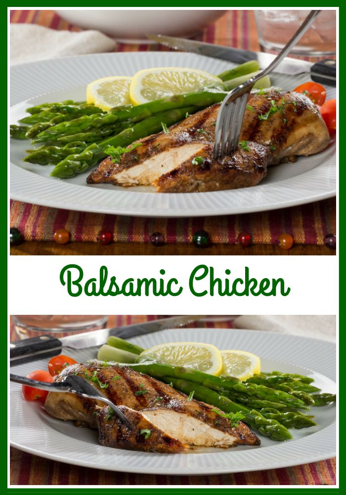 Our Balsamic Chicken has an unmistakably rich flavor, and this light version tastes so good, nobody will believe it's healthy, too!
