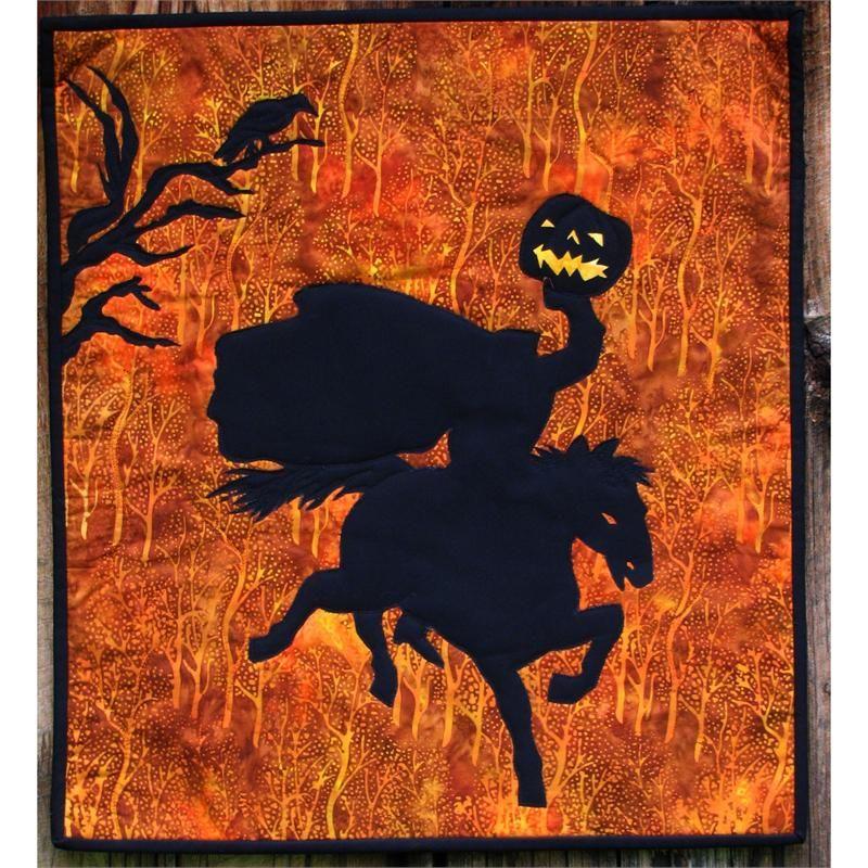 Halloween Horseman Wallhanging Pattern ME-211 | gut gemischt | Pinterest