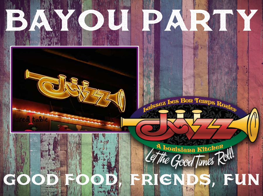 Make Friday Nite A Bayou Party Grab Some Friends Good Food Have