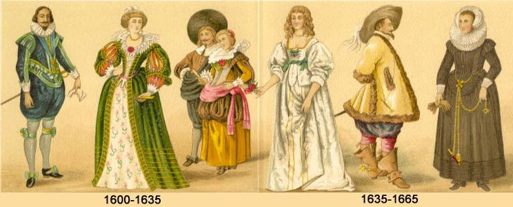 Seventeenth Century The History Of Theatre Costumes Historical Fashion Period Costumes Historical Costume