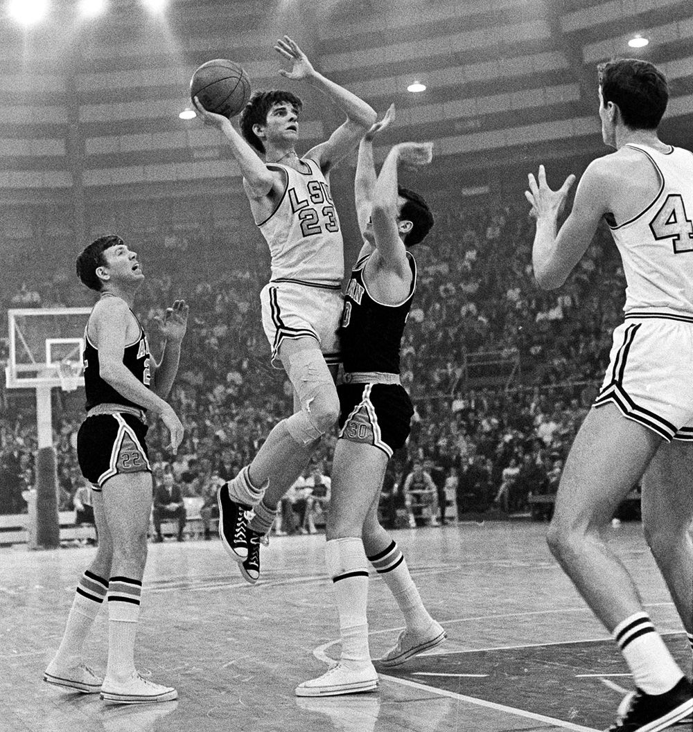 Pete Maravich LSU 1967–1970 Best players who did not win an