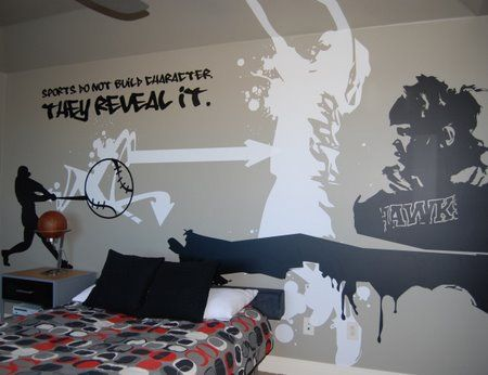 Boys room  sports graffiti room  teen boys bedrooms  boys bedrooms ideas   bedroomboys room  sports graffiti room  teen boys bedrooms  boys bedrooms  . Graffiti Bedroom Decorating Ideas. Home Design Ideas