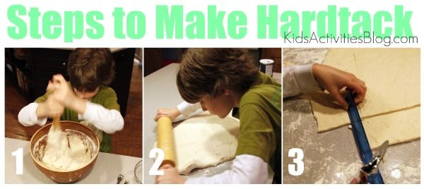How to make hardtack - Civil War history hands-on lesson.